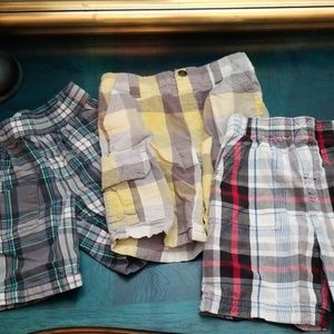 Other - 3 Pairs Plaid Shorts